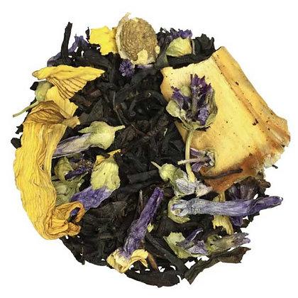 Thé noir Mirabelle de Lorraine, à partir de 50g.