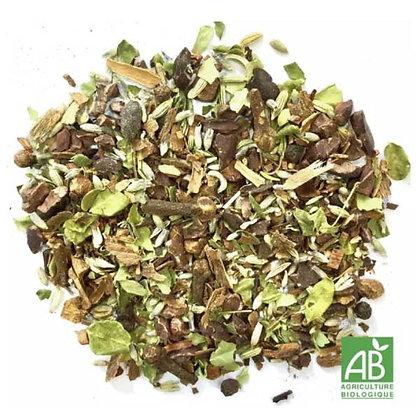 Mélange de plantes Chaï tea BIO 100gr.