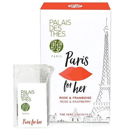 Paris for her, Palais des thés.