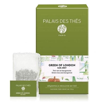 Green of London, Palais des thés.