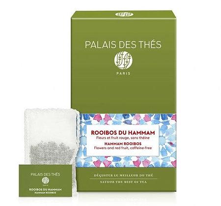 Rooïbos Hammam, Palais des thés.