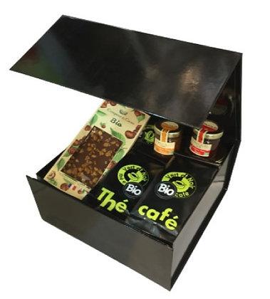 Coffret cadeau thés et cafés BIO