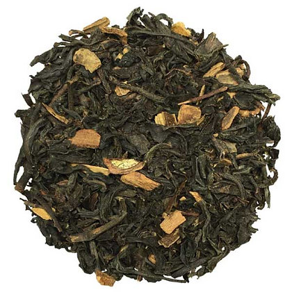 Cannelle, thé noir parfumé morceaux de cannelle.