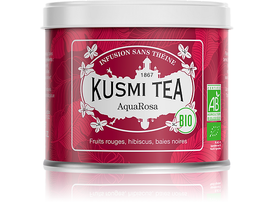 AquaRosa Bio, Kusmi Tea.