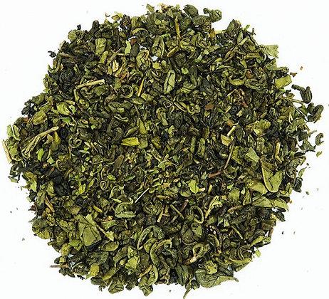Thé vert Menthe poivrée, à partir de 50g.