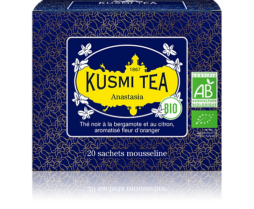 Thé noir Anastasia, Kusmi Tea à partir de