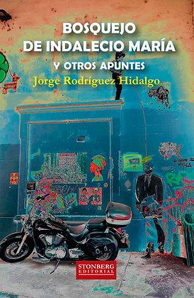 BOSQUEJO DE INDALECIO MARÍA  - Jorge Rodríguez Hidalgo