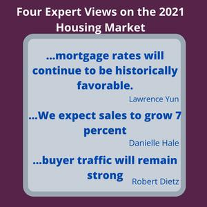 Four Expert Views on the 2021 Housing Market