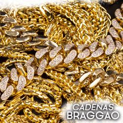 Braggao dijes y cadenas