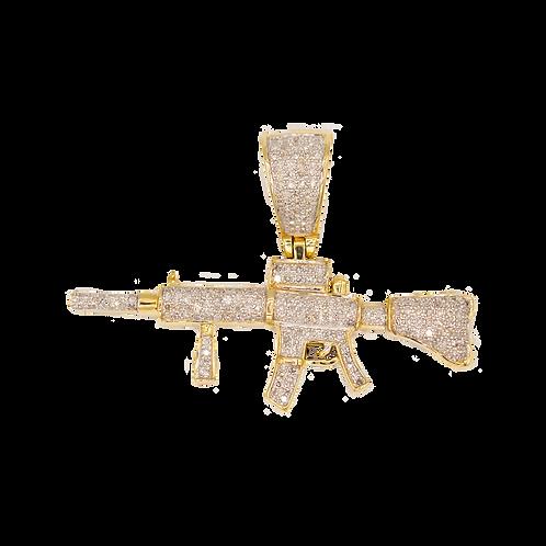 AR-15 CON DIAMANTES