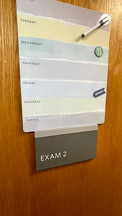 Exam Room 2 Door