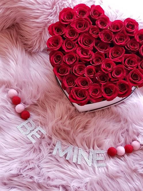 HEART ROSEBOX- VALENTINES DAY