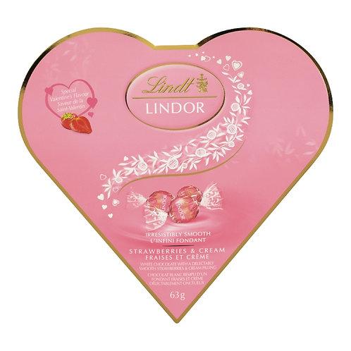 Lindt Lindor Valentine Milk Chocolate Heart