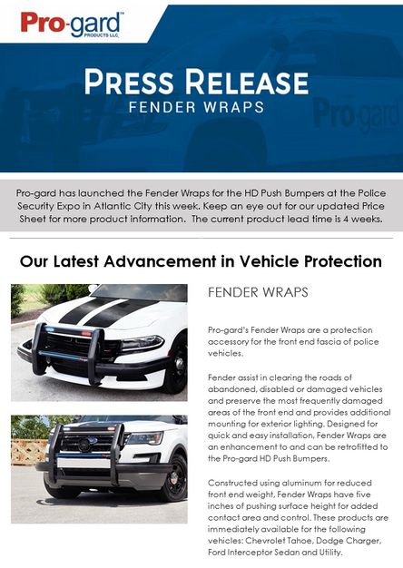 Fender Wraps: Pro-gard's Latest Advancement in Exterior Vehicle Protection