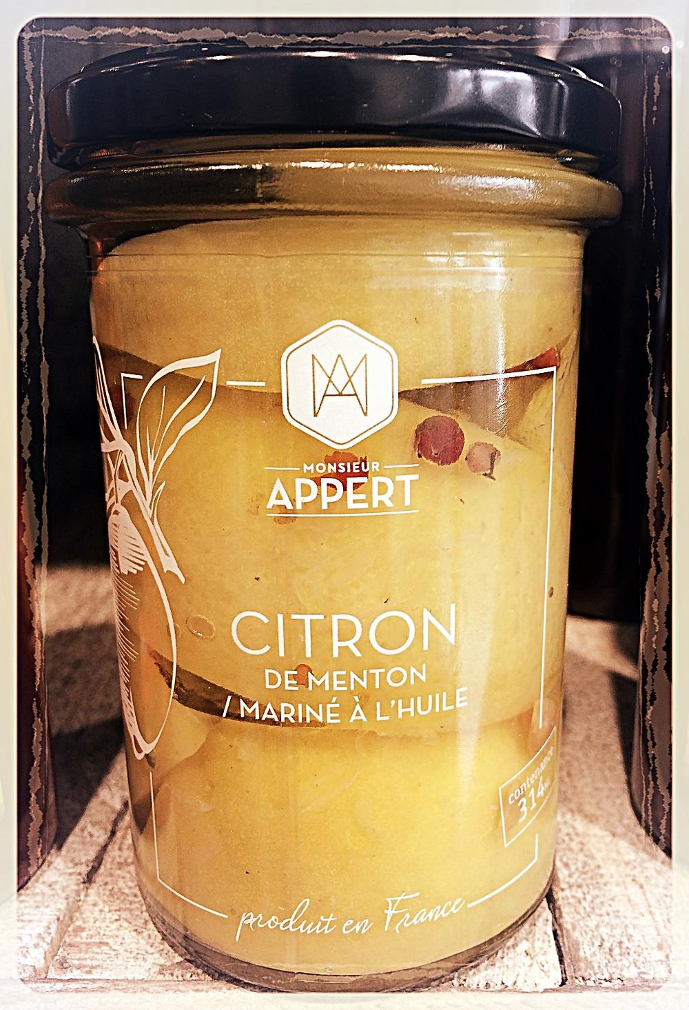 Citrons de Menton marinés Monsieur Appert ©Clémentine Chauveau