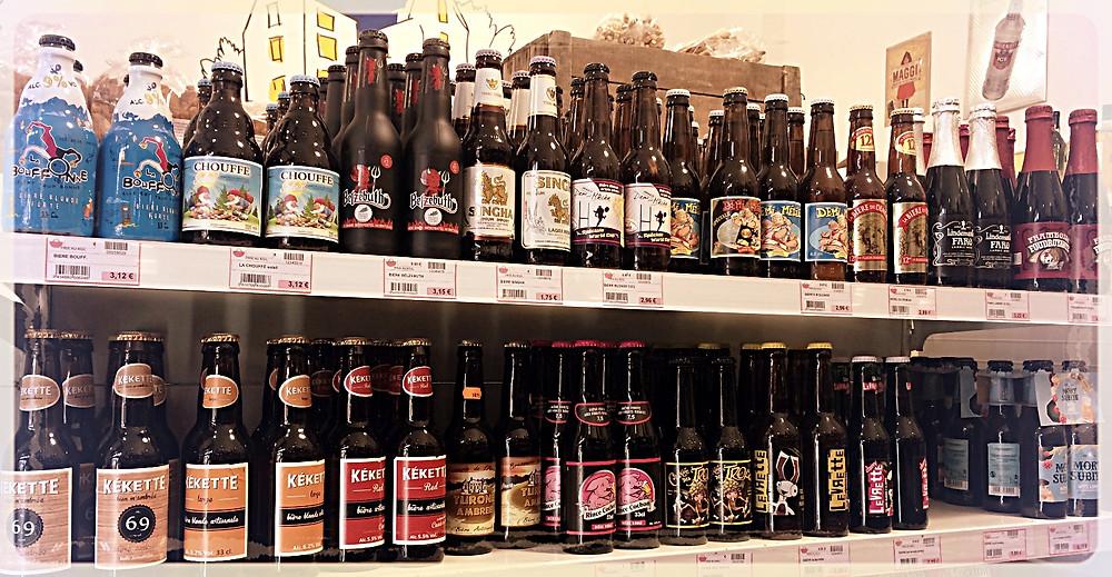 Bières belges ©Clémentine Chauveau
