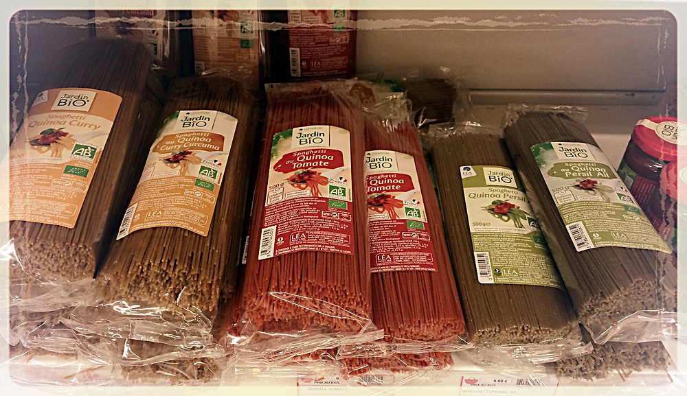 Spaghetti au quinoa ©Clémentine Chauveau