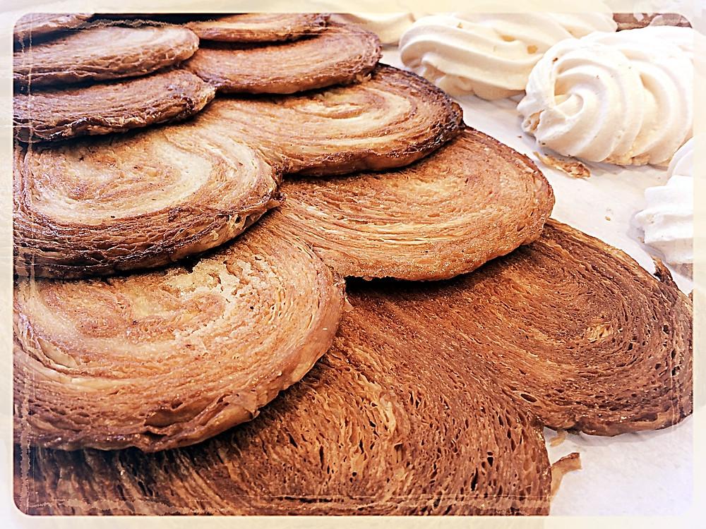 Palmiers et meringues Au Royal Chocolat ©Clémentine Chauveau