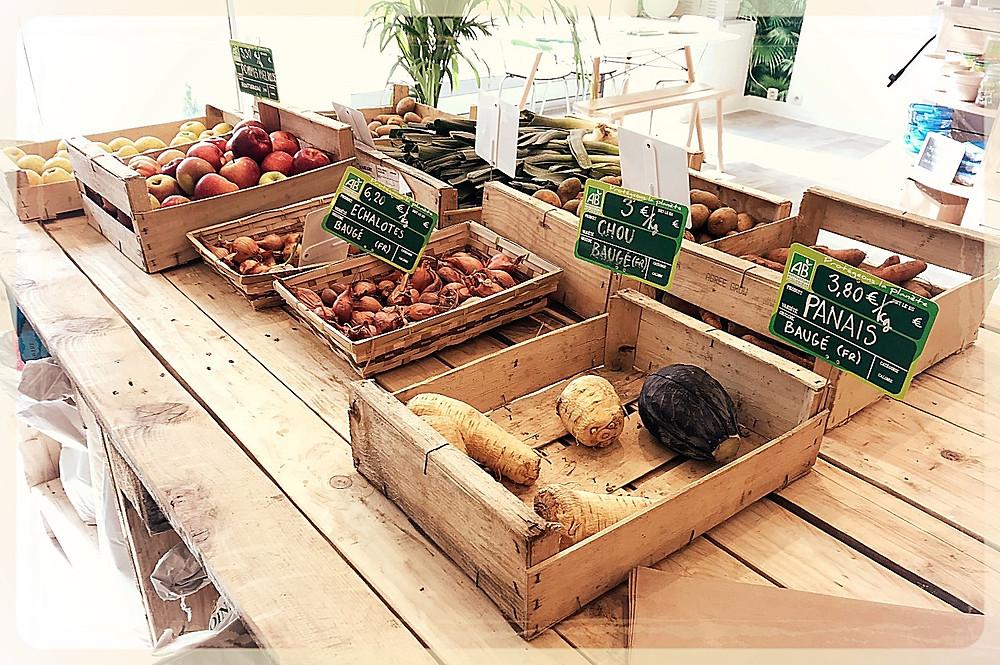 Produits maraîchers bio et locaux ©Clémentine Chauveau