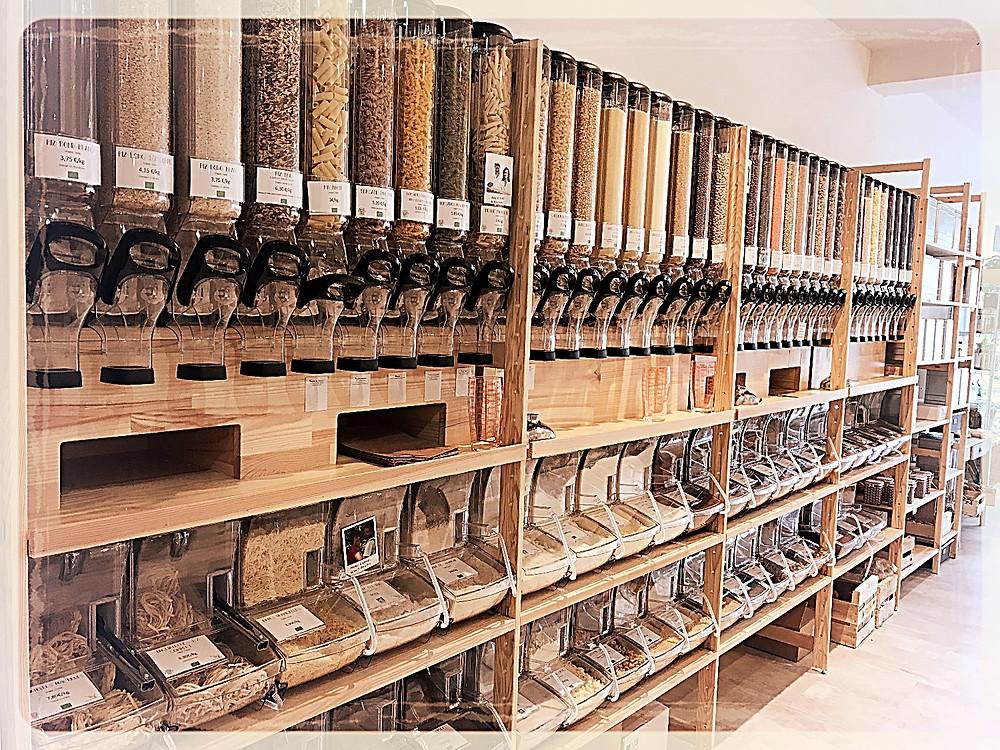 Les produits en vrac ©Clémentine Chauveau