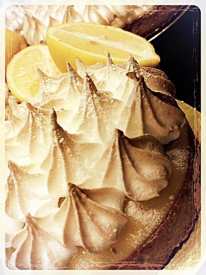 Tarte aux citron meringuée ©Clémentine Chauveau