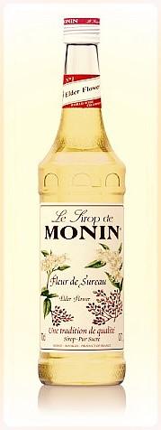 Sirop de fleur de sureau Monin ©Clémentine Chauveau