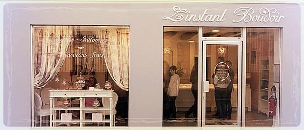 Boutique l'Instant Boudoir rue Victoire Tours ©Clémentine Chauveau