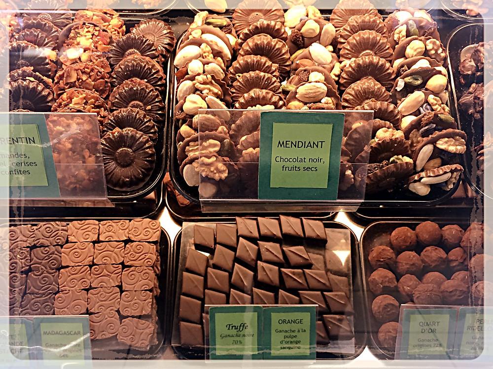 Le rayon chocolats ©Clémentine Chauveau