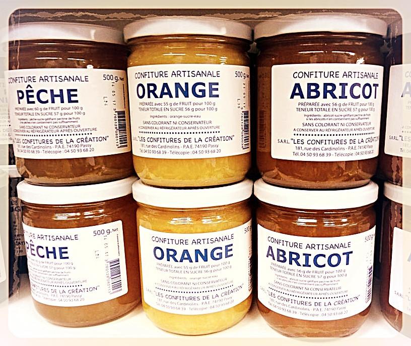 Confitures artisanales de Savoie ©Clémentine Chauveau
