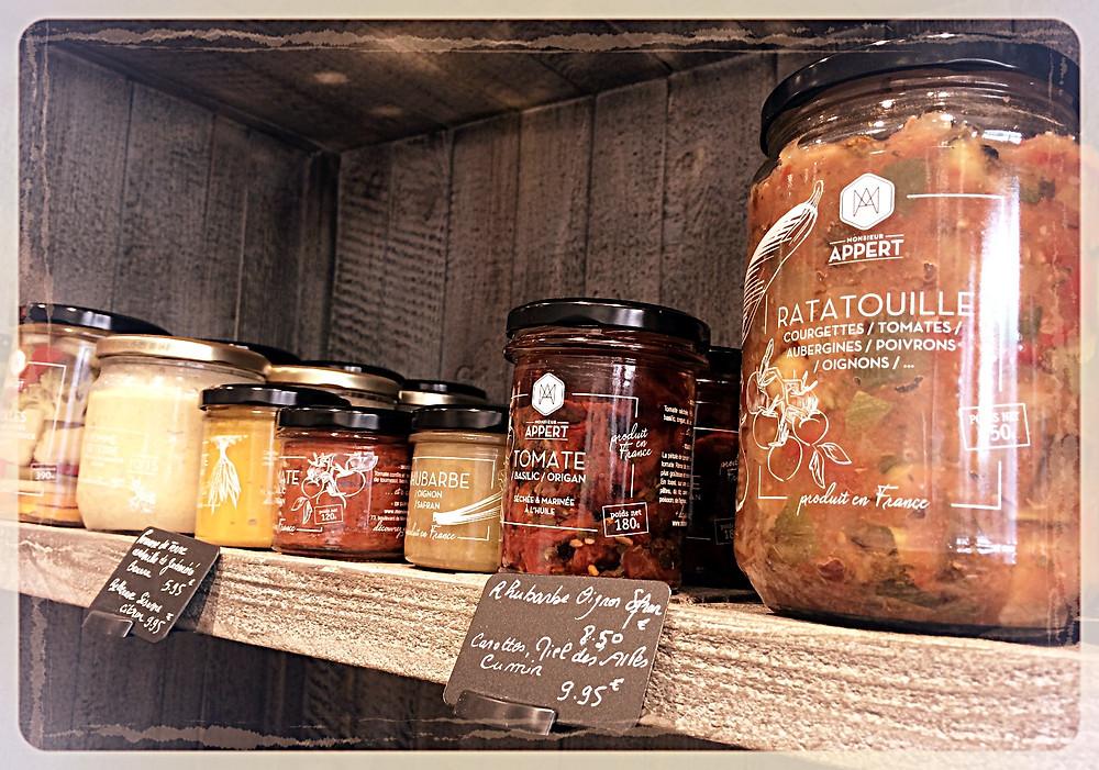 Bocaux de légumes Monsieur Appert ©Clémentine Chauveau
