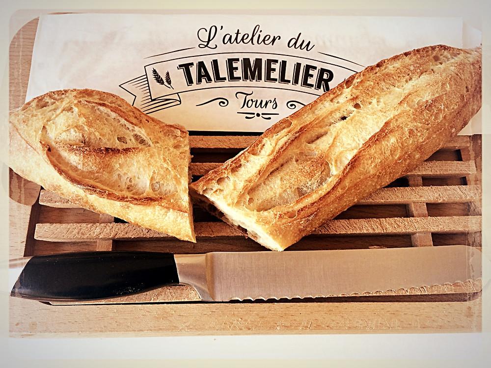 La baguette de l'Atelier- l'Atelier du Talemelier ©Clémentine Chauveau