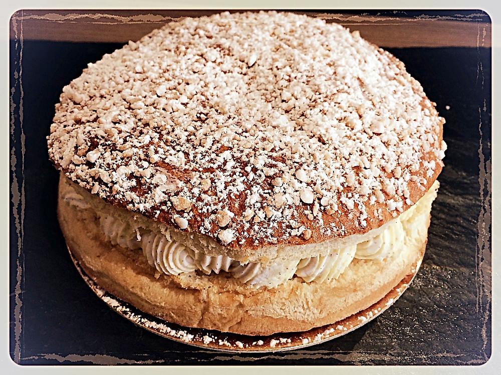 La tarte tropézienne l'Atelier du Talemelier ©Clémentine Chauveau