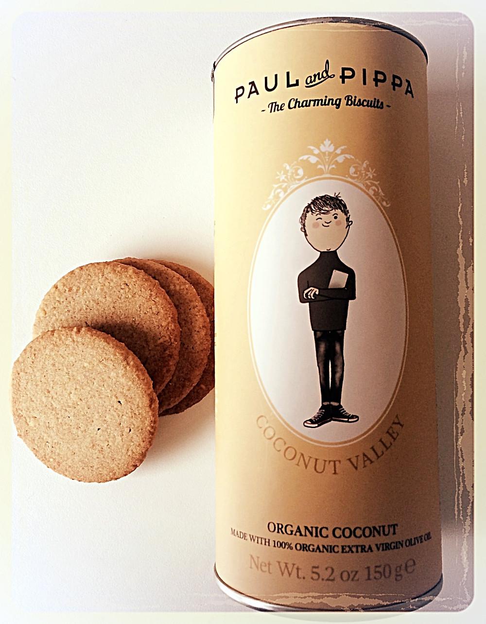 Biscuits Bio noix de coco Paul & Pippa ©Clémentine Chauveau