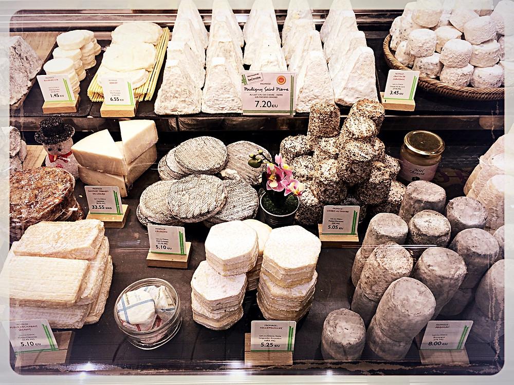 Spécialités au lait de chèvre cru Beillevaire ©Clémentine Chauveau