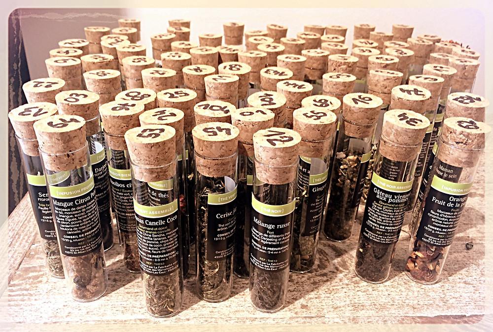 Tubes à essais La Fabrikathé ©Clémentine Chauveau