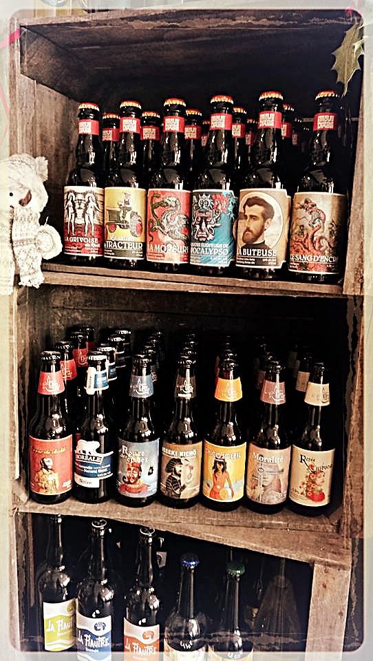 Sélection de bières ©Clémentine Chauveau