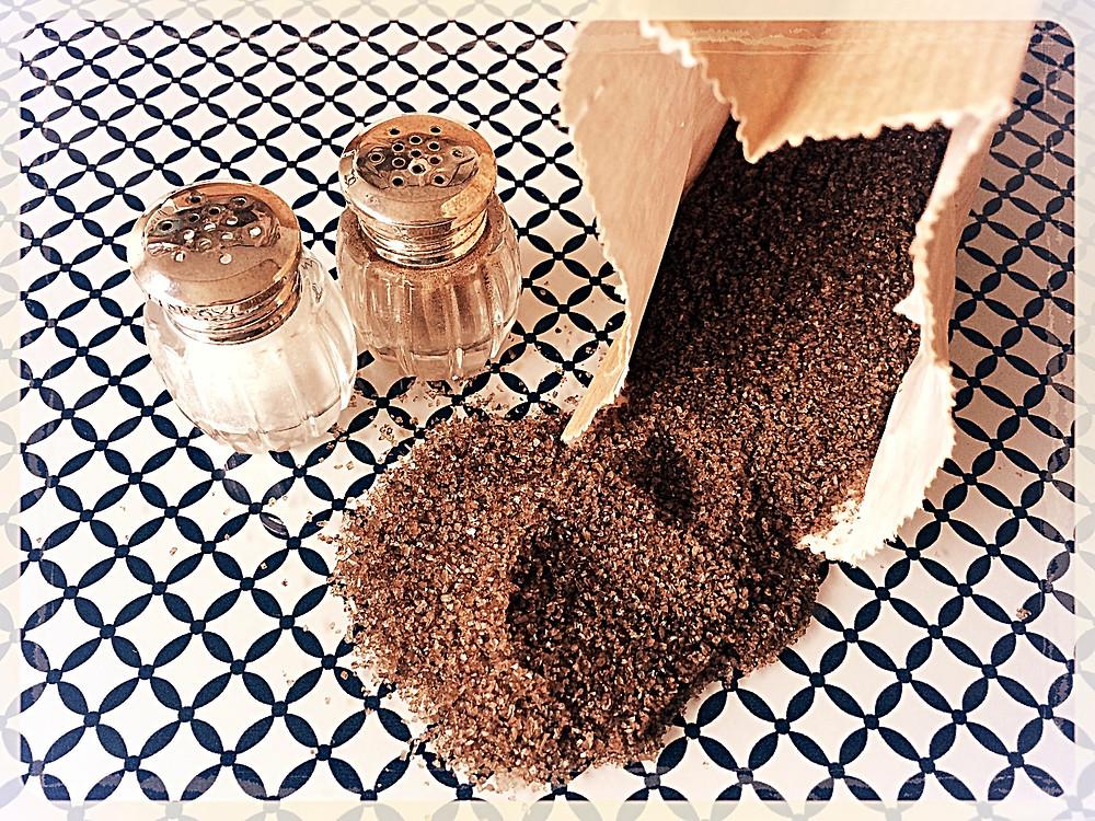 Le sel fumé Salish ©Clémentine Chauveau