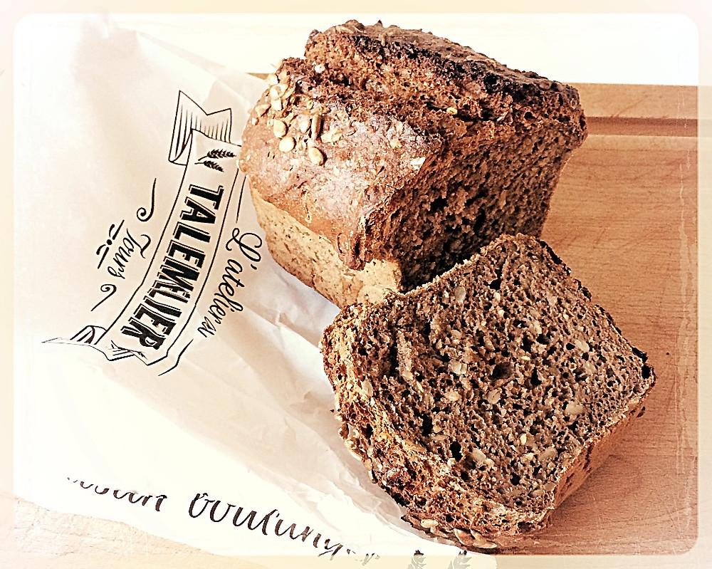 Le pain scandinave l'Atelier du Talemelier ©Clémentine Chauveau