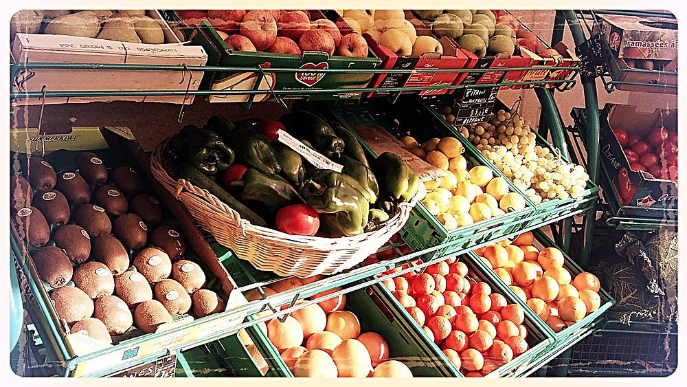 Fruits et légumes Les Saveurs de Saché ©Clémentine Chauveau