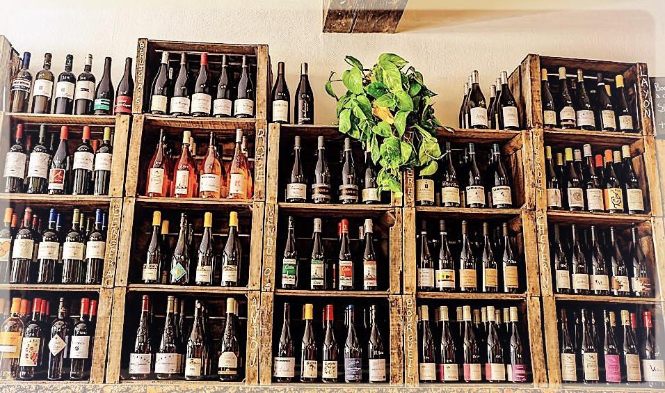 Sélection de vins ©Clémentine Chauveau