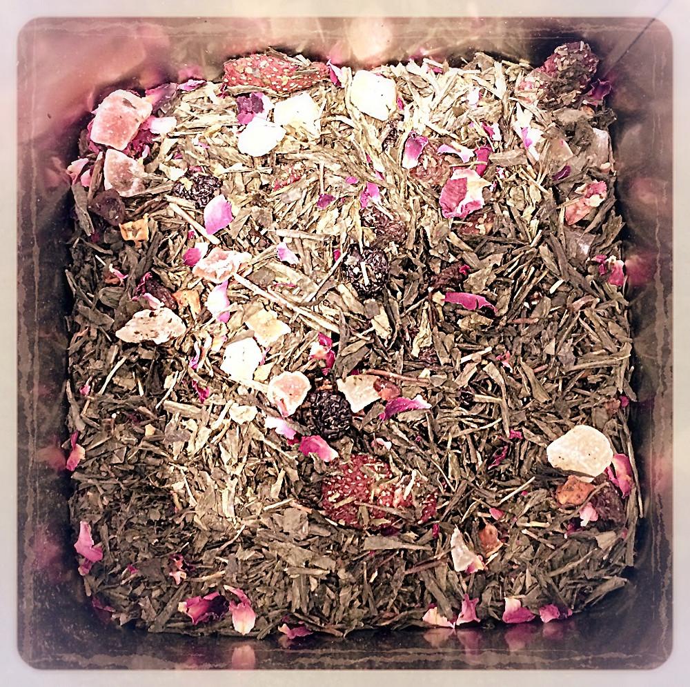 Thé vert cerise framboise vanille FBKT ©Clémentine Chauveau