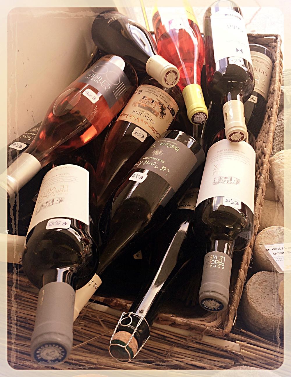 Sélection de vins natures ©Clémentine Chauveau