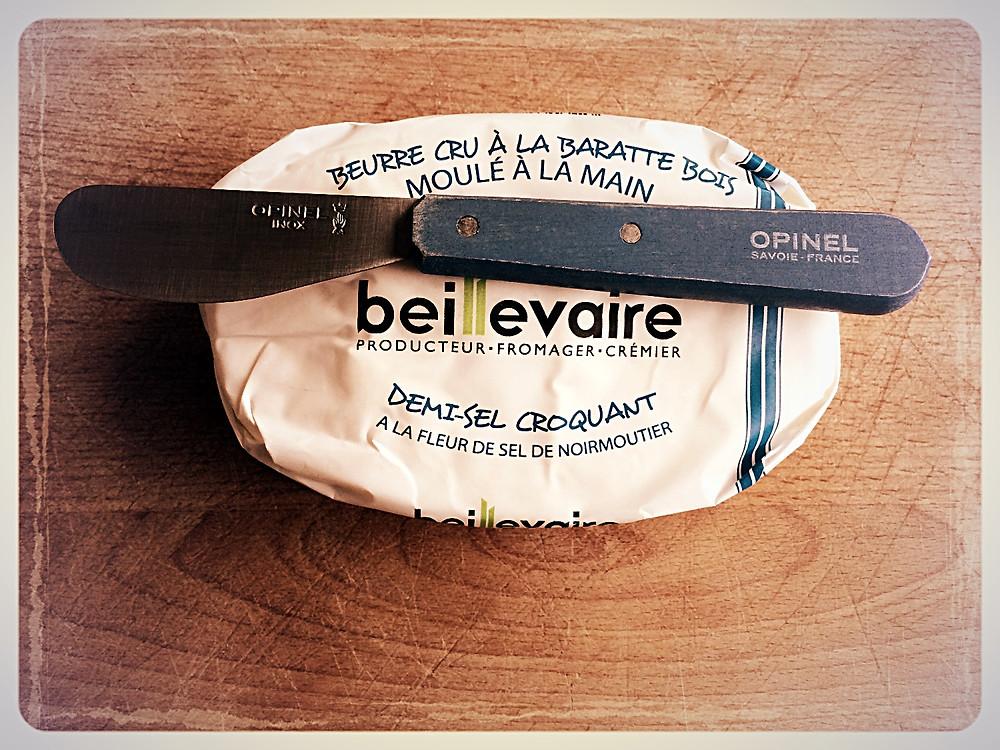 Beurre cru demi-sel croquant Beillevaire ©Clémentine Chauveau