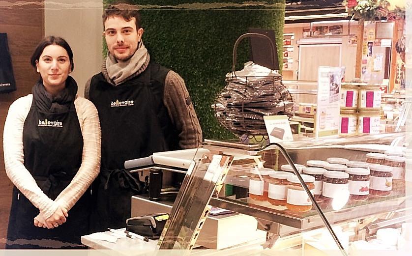 Hélène et François Bonnet, de vraies crèmes! Beillevaire ©Clémentine Chauveau