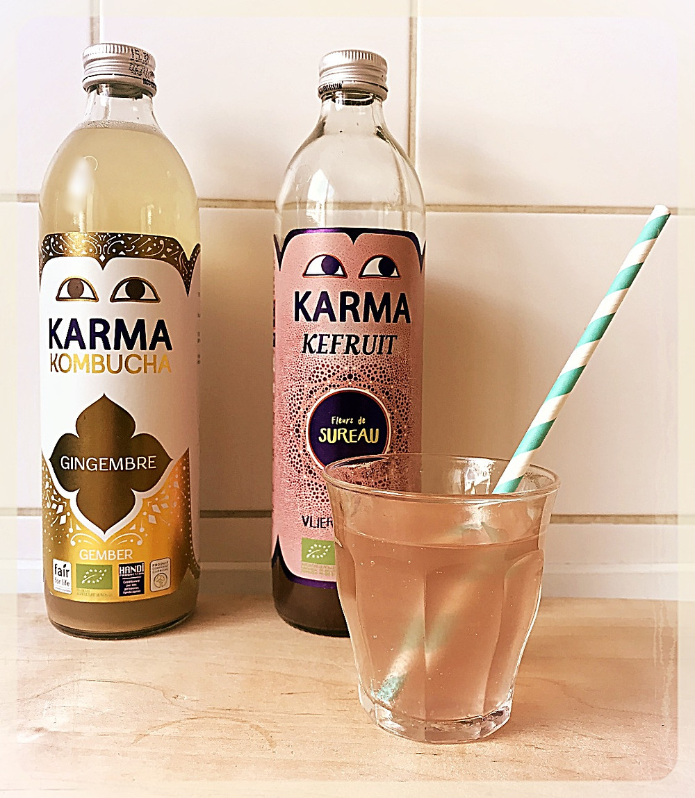 Boissons fermentées Karma ©Clémentine Chauveau