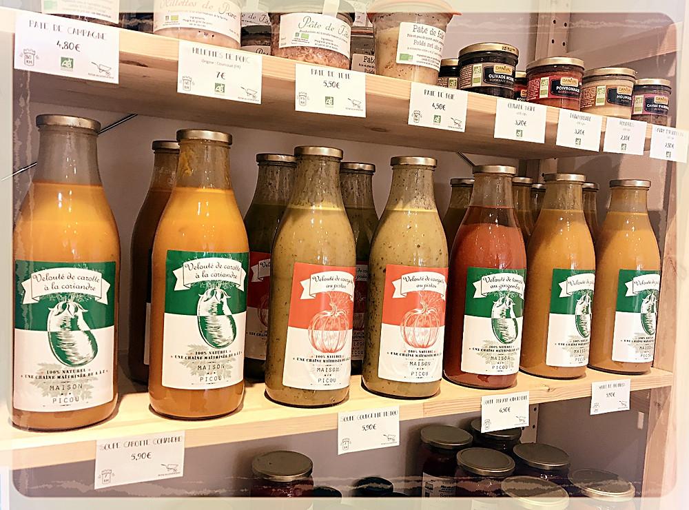Soupes bio et locales ©Clémentine Chauveau