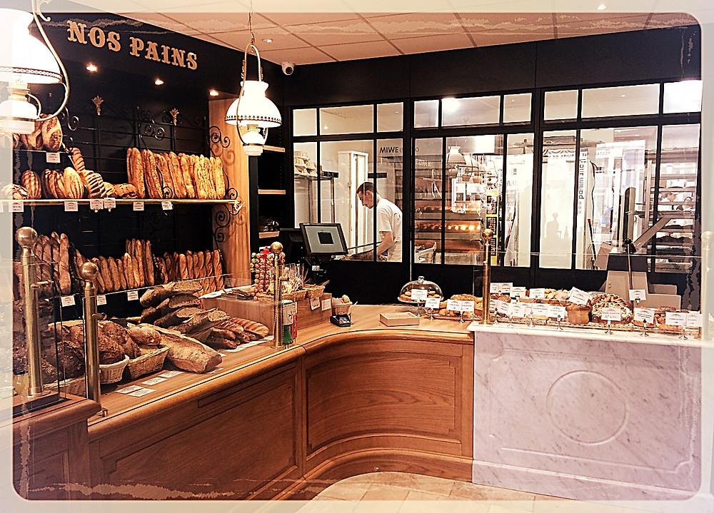 Le laboratoire visible de la boutique l'Atelier du Talemelier ©Clémentine Chauveau