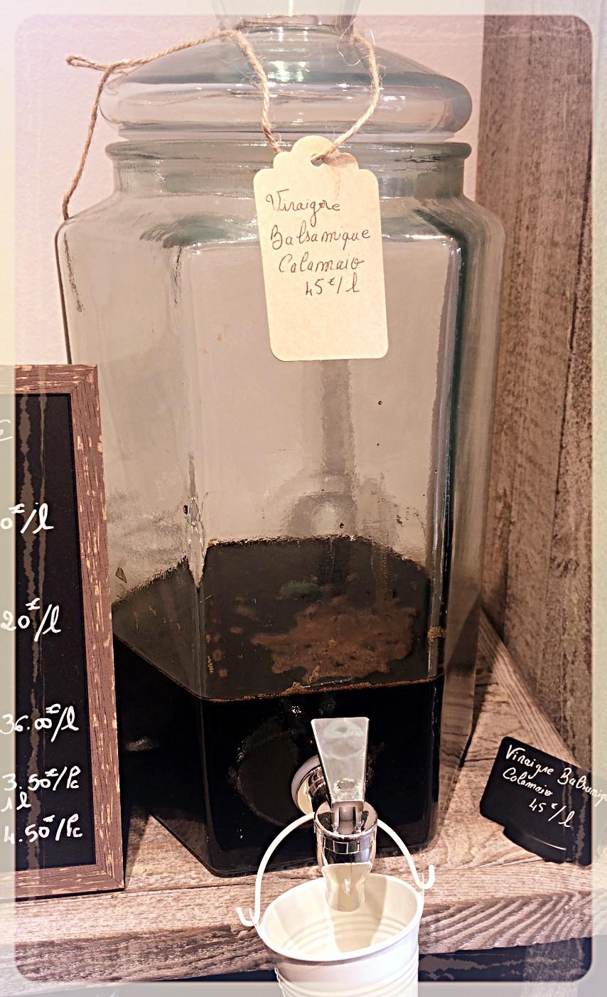 Vinaigre Balsamique de Modène ©Clémentine Chauveau