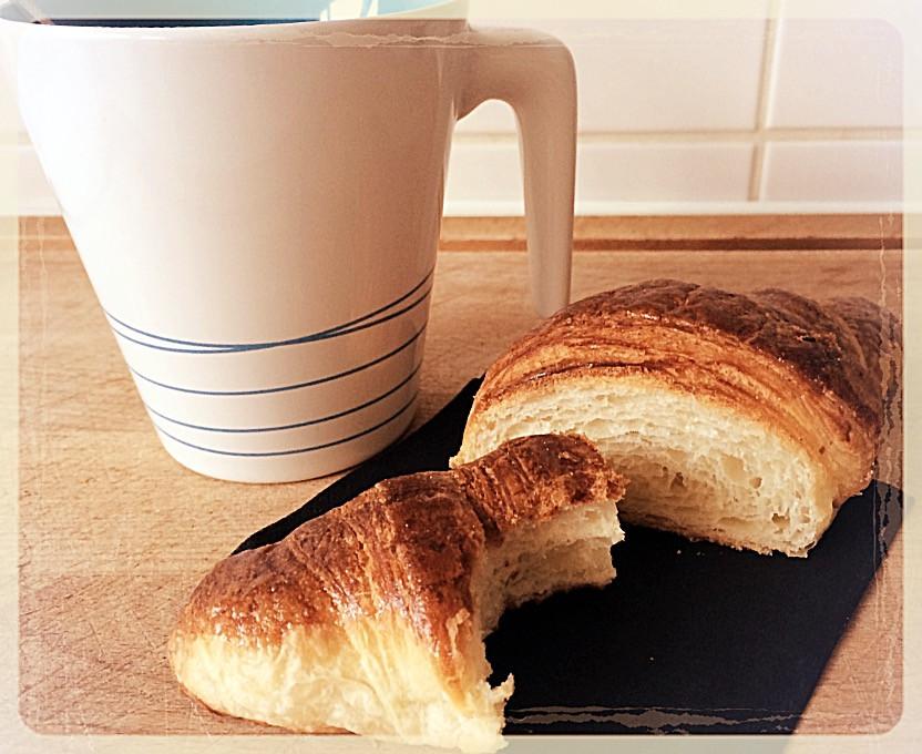 Croissant au beurre ©Clémentine Chauveau