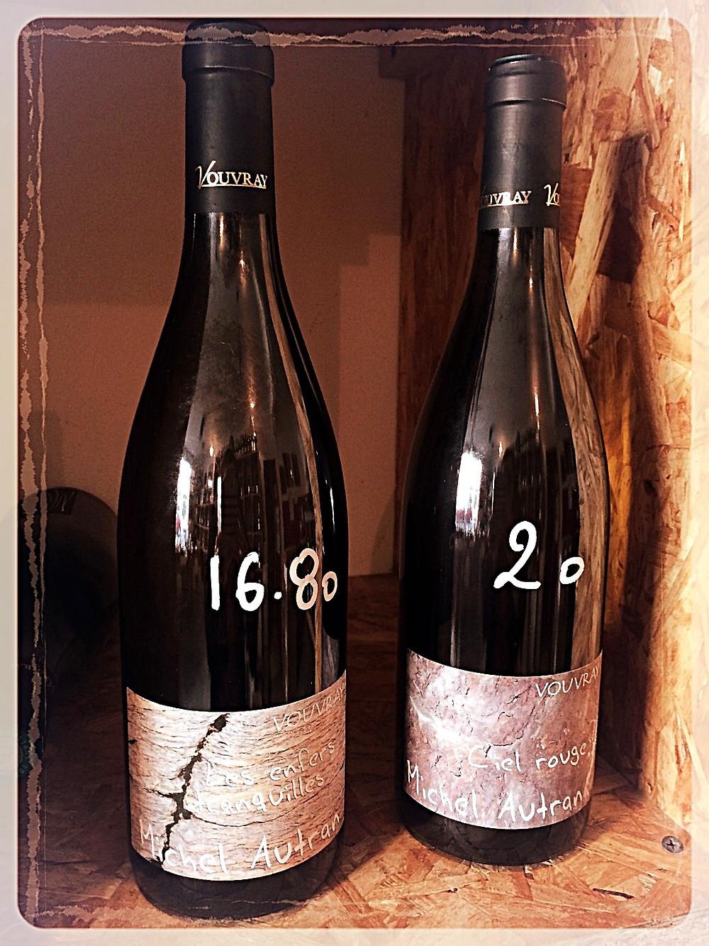 Vins blancs secs de Vouvray de Michel Autran ©Clémentine Chauveau